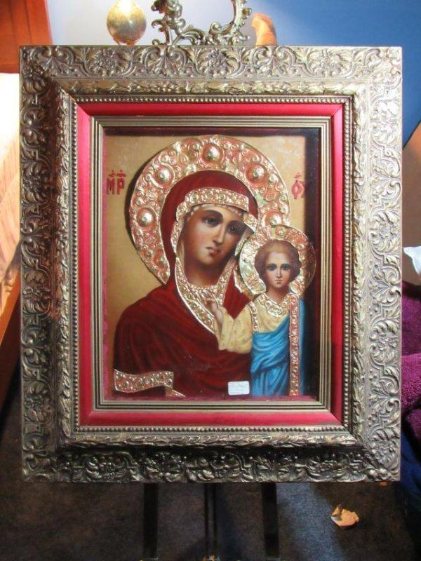 Icon - Mother & Child - Kazanskaya - Ivan Nieperov
