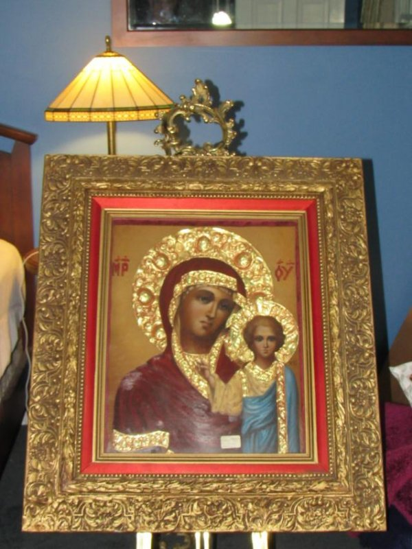 Icon - Mother & Child - Kazanskaya - Ivan Nieperov - 4