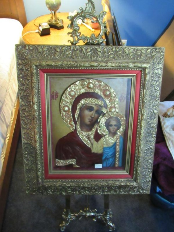 Icon - Mother & Child - Kazanskaya - Ivan Nieperov - 6