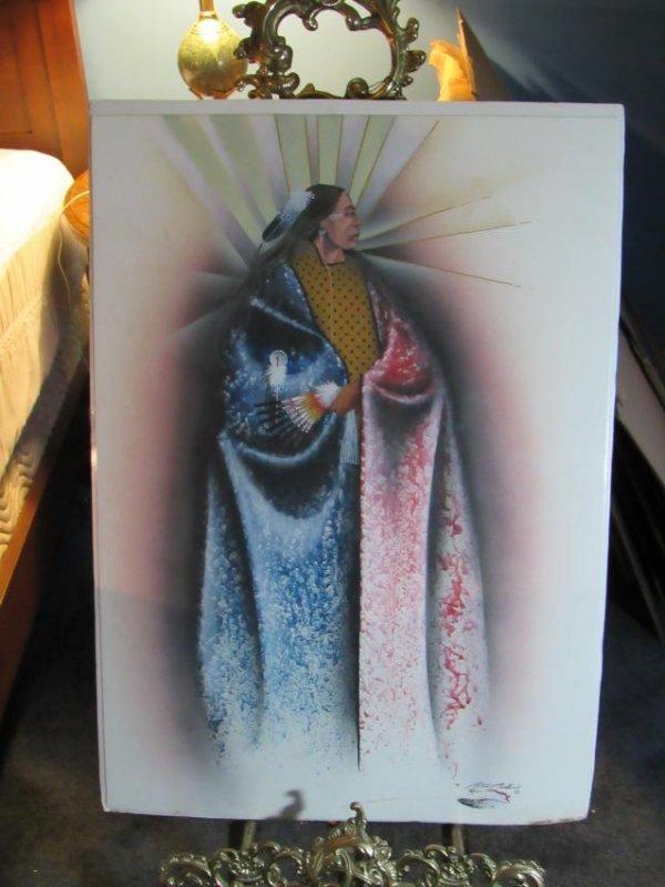 Native American Print by Robert Redbird Kiowa