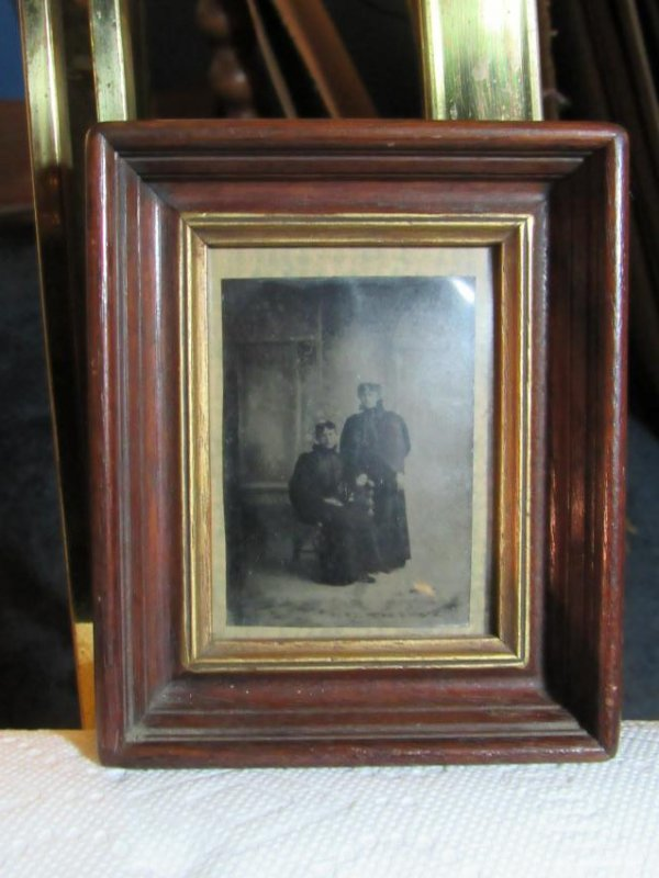 Framed Photograph - Two Women