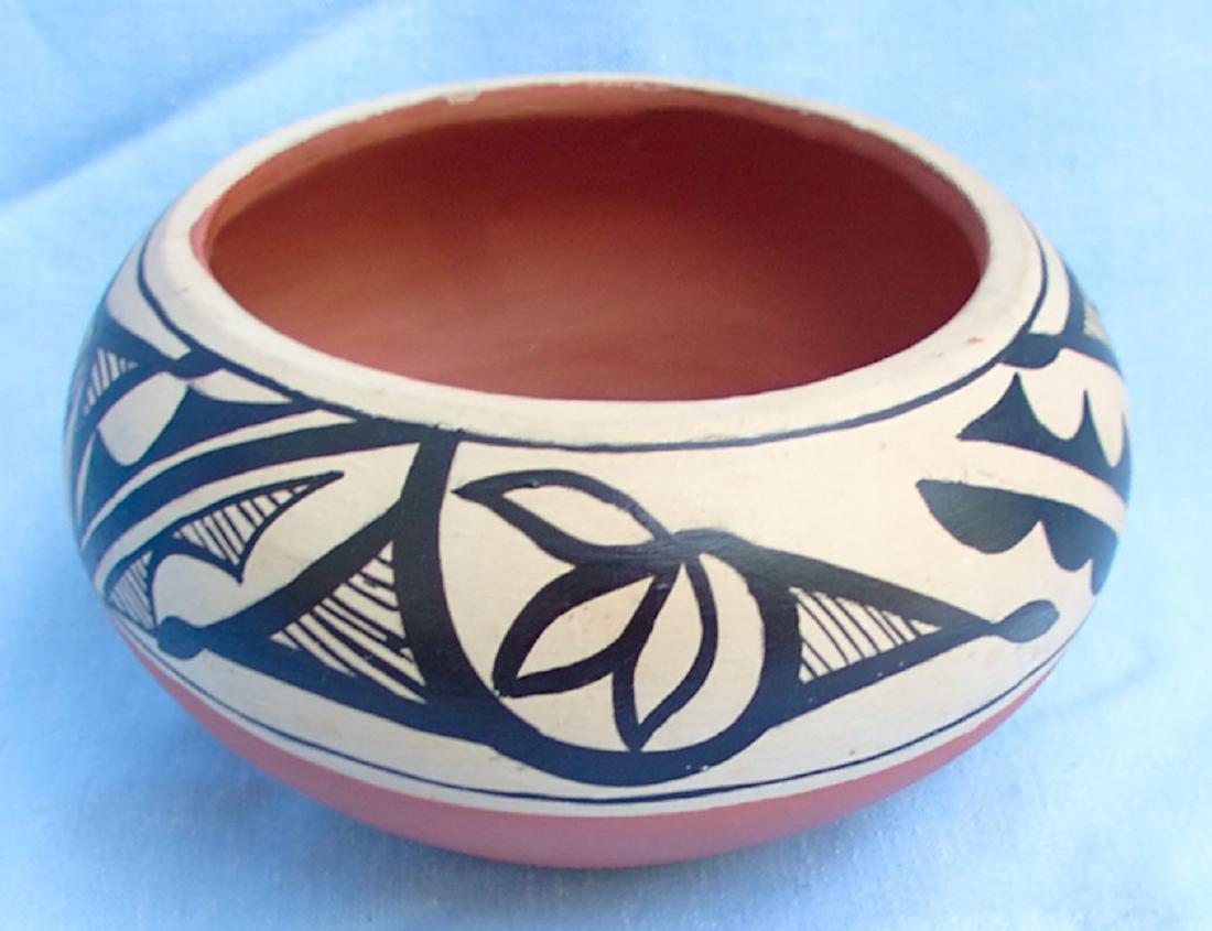 Signed Pottery Clay Bowl - Dorela Tosa Jemez