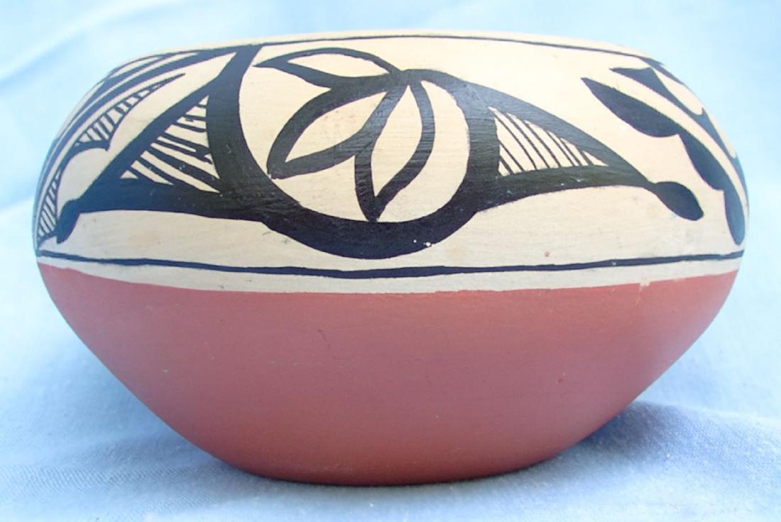 Signed Pottery Clay Bowl - Dorela Tosa Jemez - 6