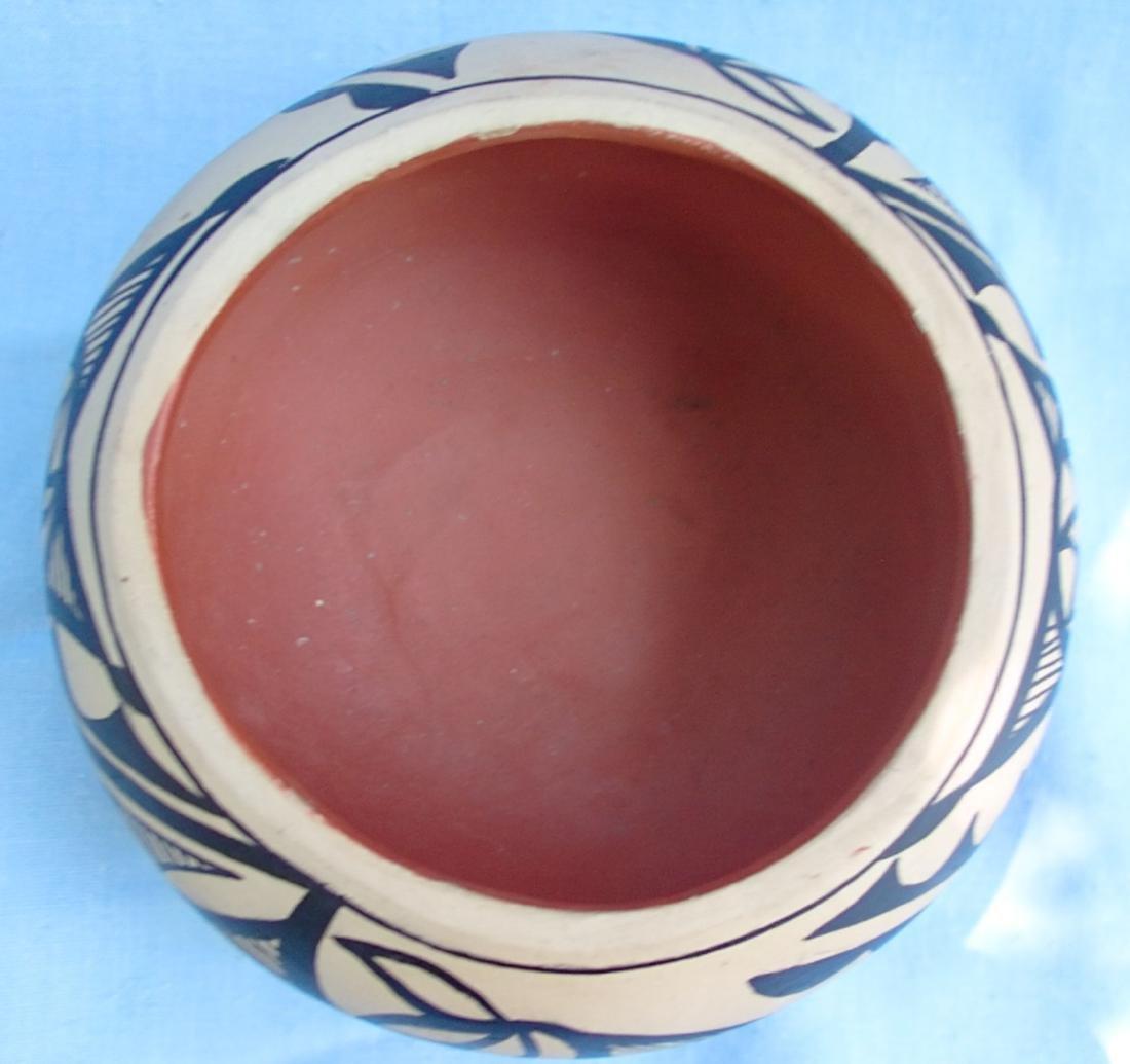 Signed Pottery Clay Bowl - Dorela Tosa Jemez - 7