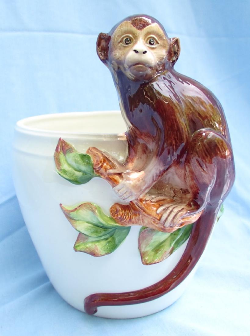 Ceramic Monkey Bowl Grosselle, Italy