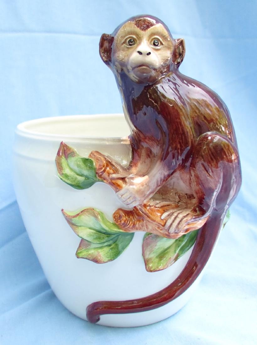 Ceramic Monkey Bowl Grosselle, Italy