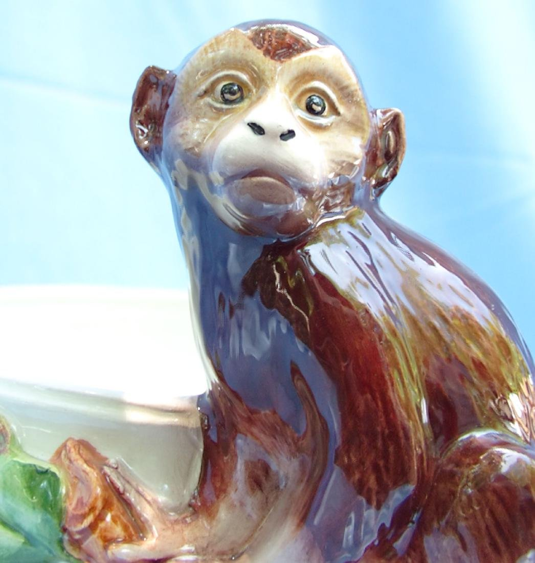 Ceramic Monkey Bowl Grosselle, Italy - 7