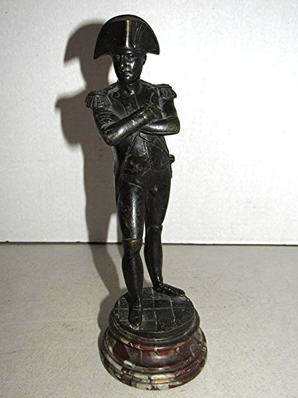 Bronze Statue of Napoleon - Signed