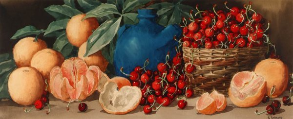 6: Barbaro (Giovanni, fl. 1890-1907). Oranges & Cherrie