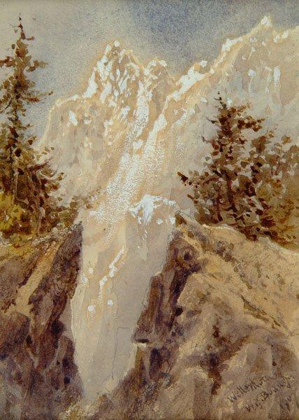 7: Boddy (William James, 1832-1911). Wetterhorn, 1907,