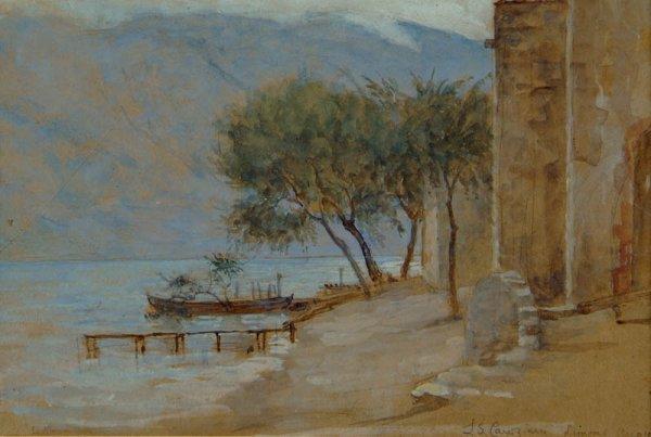 12: Canziani (Estella Louisa M., 1887-1964). View near