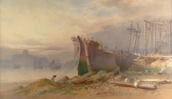16: Cook (William, of Plymouth, c. 1830-90). The Boatya