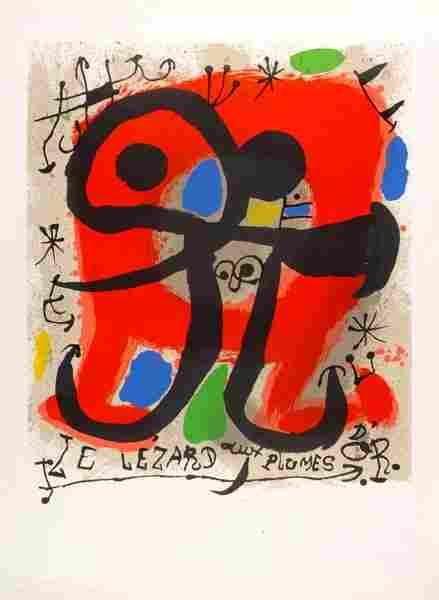 380: Miro (Joan, 1893-1983). Le Lézard aux Plumes d'Or,