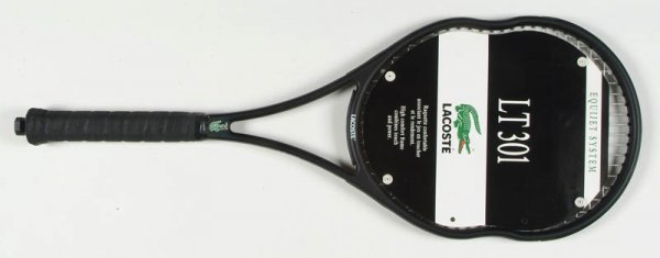 """72A: The """"L.T. 301"""" tennis racket by Lacoste Equijet Sy"""