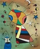 Joan MIRO (1893-1983) Gouache on paper