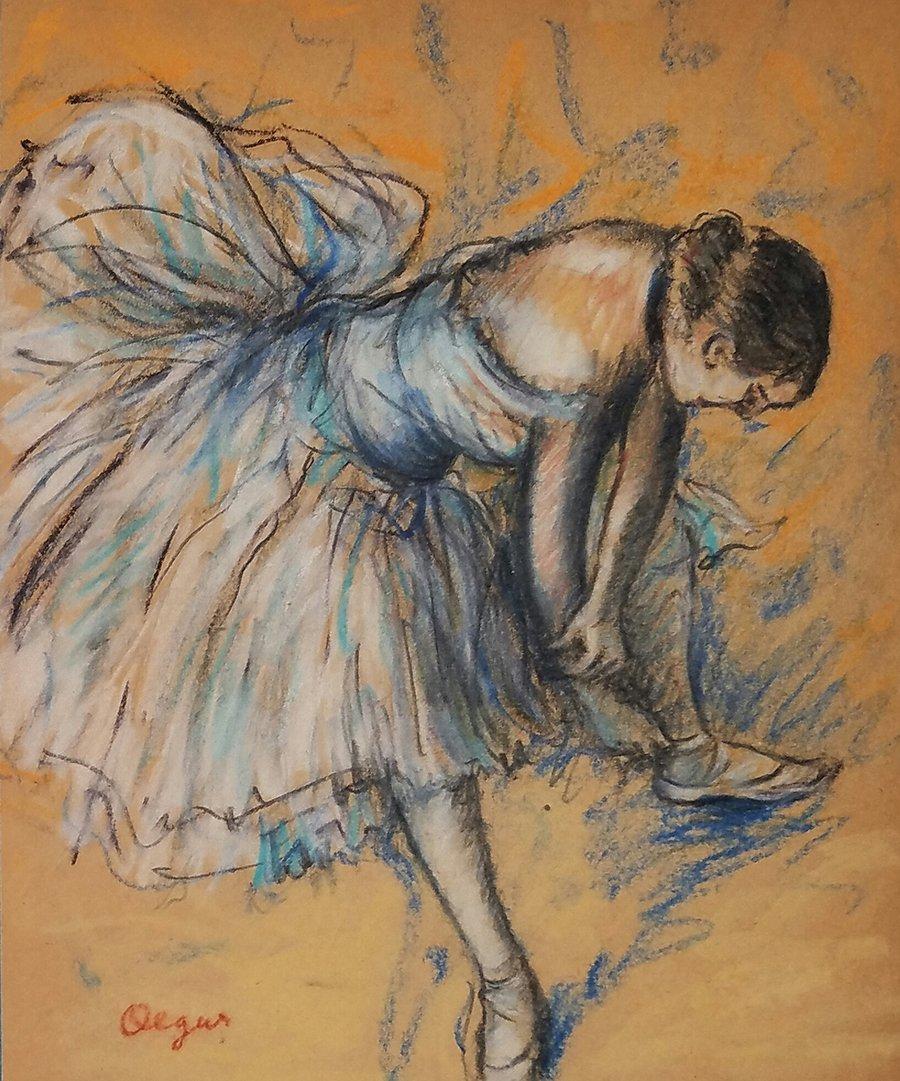 Edgar DEGAS (1834-1917) Pastel on Paper