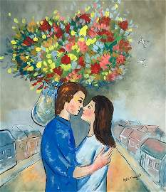 Marc CHAGALL (1887-1985) Gouache on paper