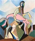 Pablo PICASSO (1881-1973) Gouache on Paper
