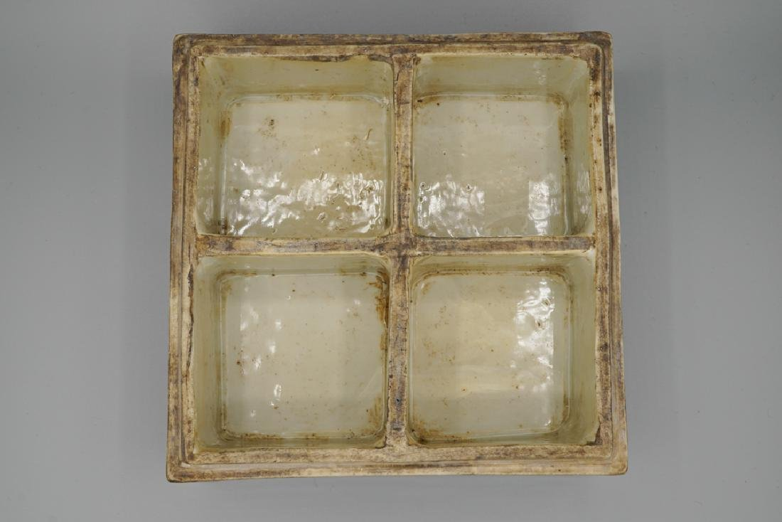 China Ming Dynasty Blue and White Square Box - 4