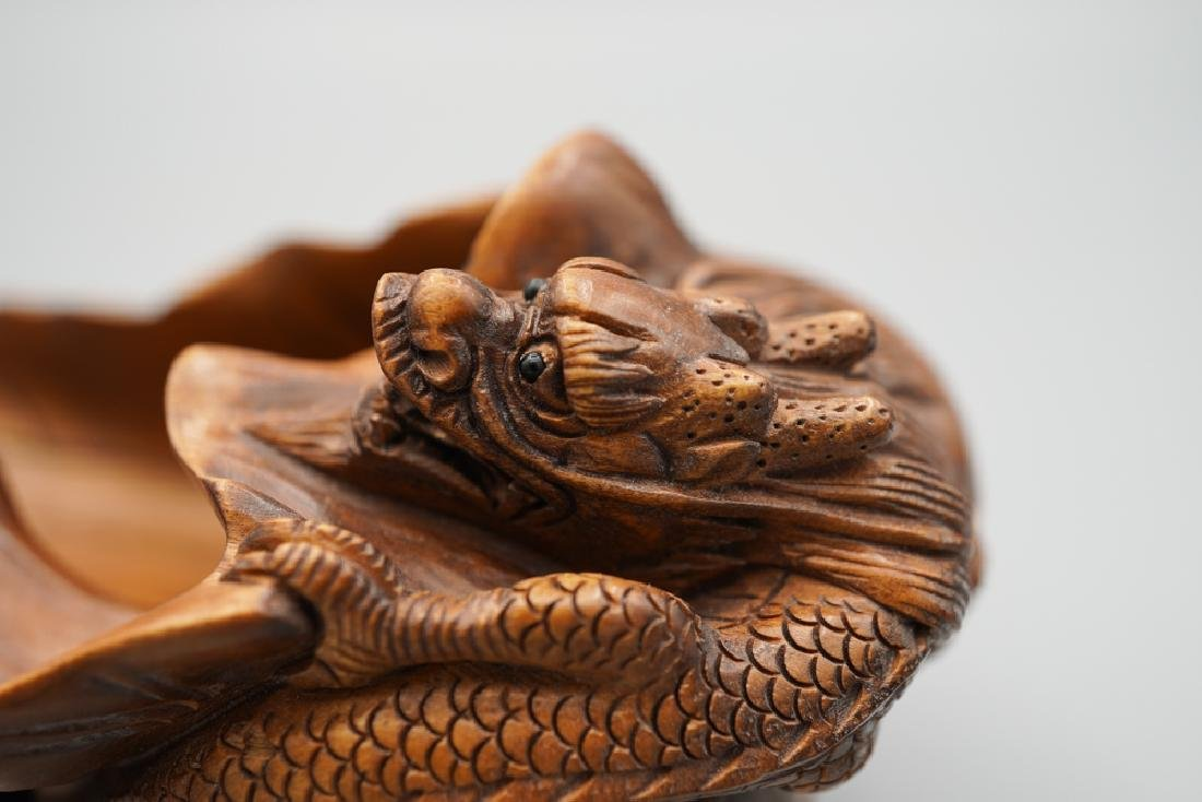 A carved boxwood - 5