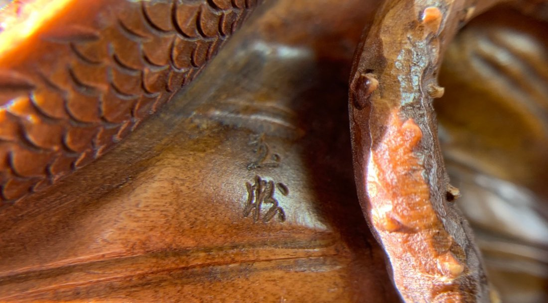 A carved boxwood - 9