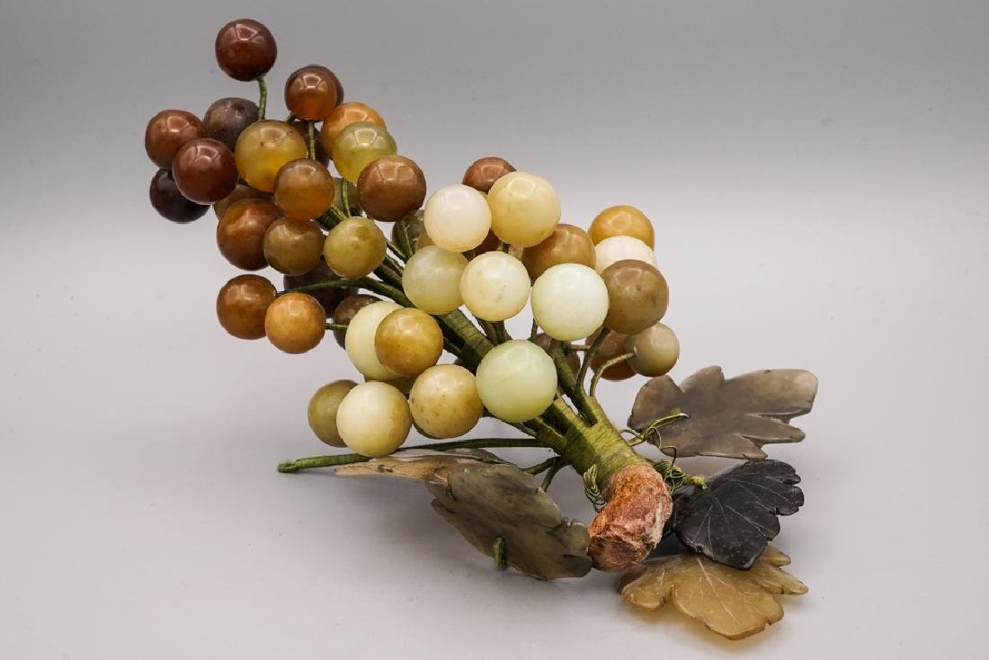 Chinese Celadon Russet Jade Grape