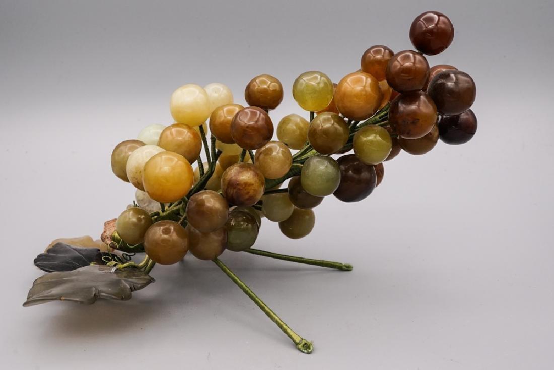 Chinese Celadon Russet Jade Grape - 2