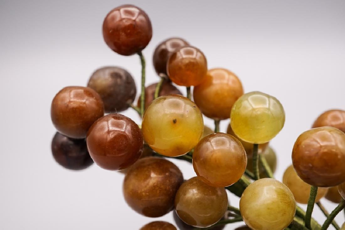 Chinese Celadon Russet Jade Grape - 4