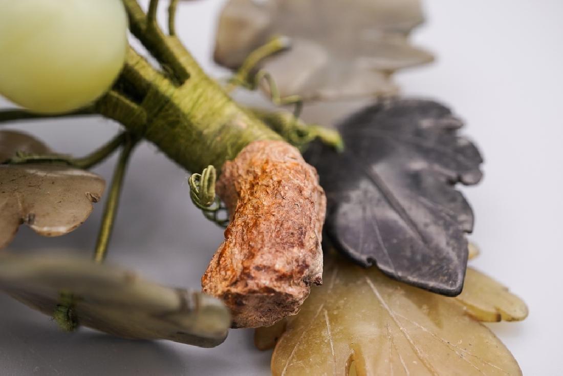 Chinese Celadon Russet Jade Grape - 7