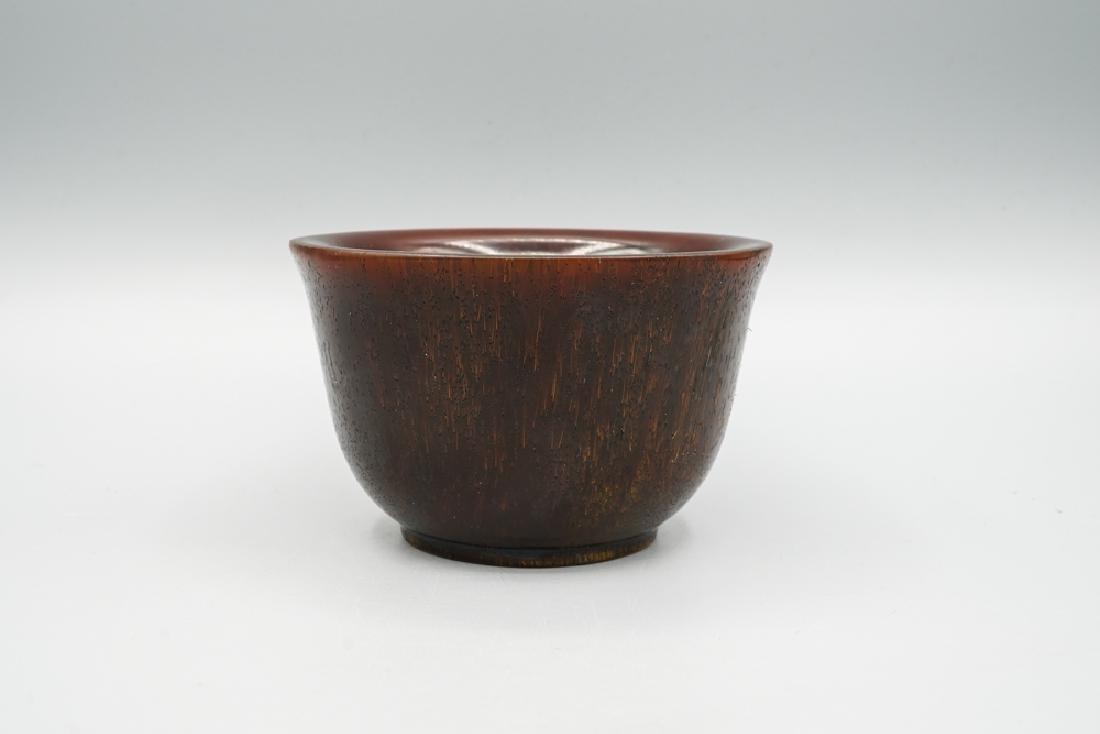 China Qing Dynasty Rhinoceros Horn Cup