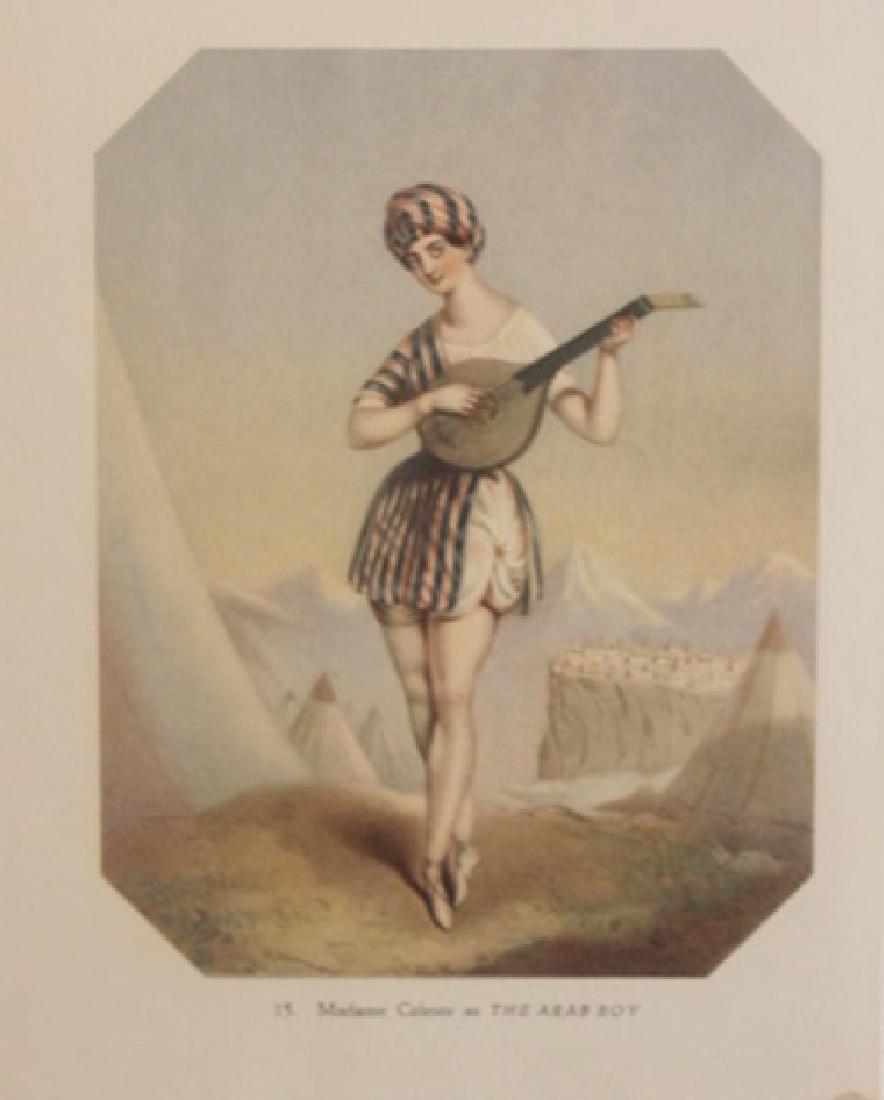 Vintage Lithograph Madame Celeste