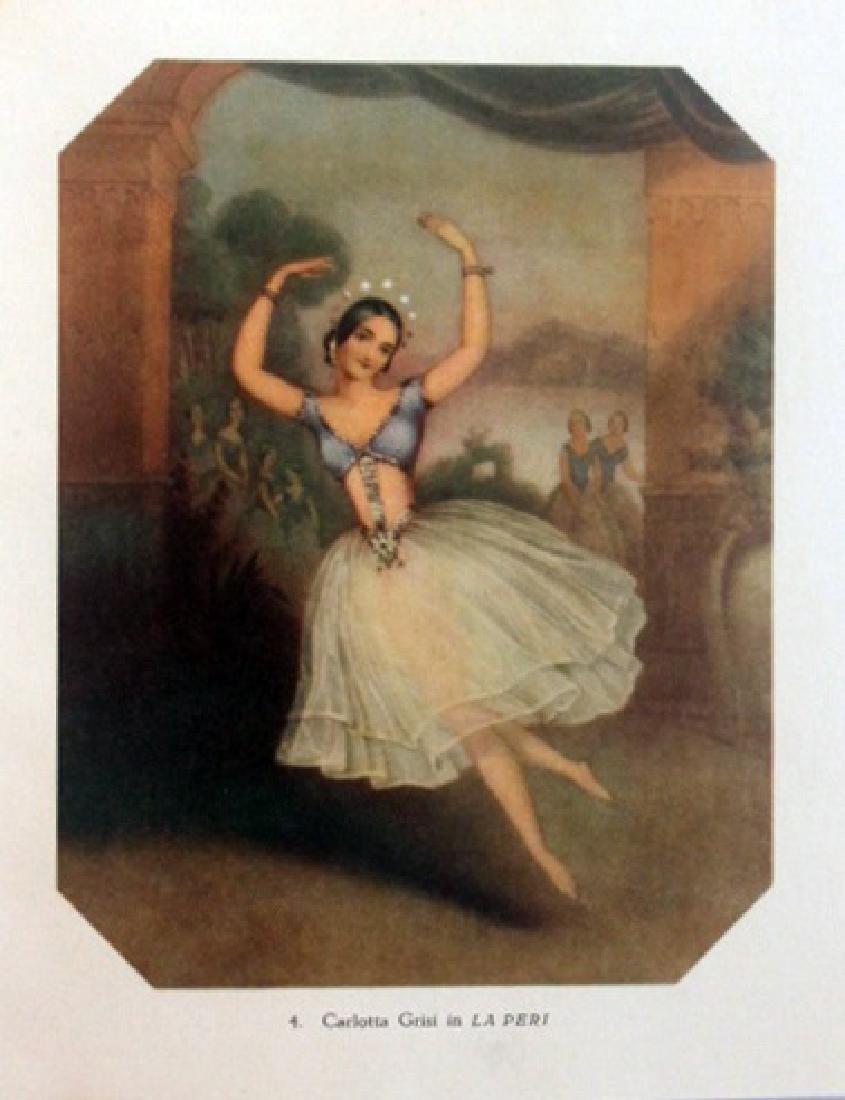 Vintage Lithograph Carlotta Grisi in La Peri