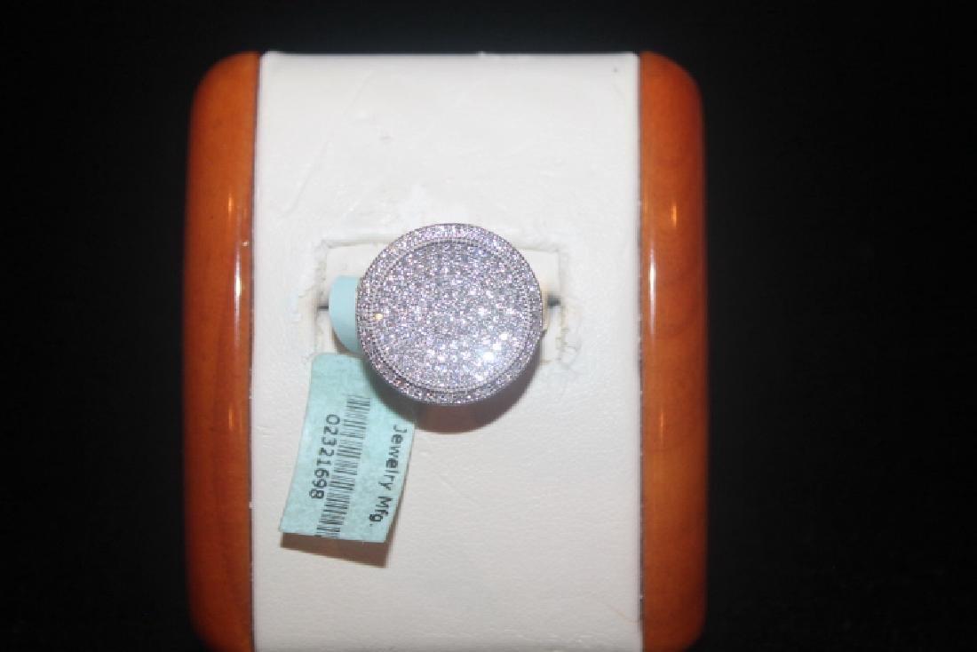Stunning White Sapphire Ring