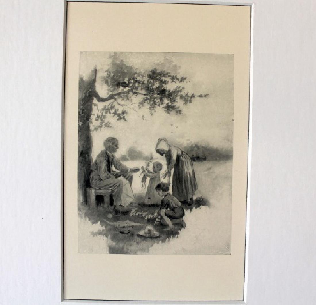 Rare 1800s Lithograph