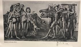 massacre in korea pablo picasso lithograph