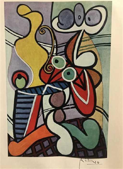 Grande Nature Morte au Gueridon - Pablo Picasso