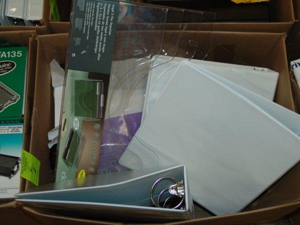 1002: BOX OF OFFICE SUPPLIES BOX OF OFFICE SUPPLIES  AP