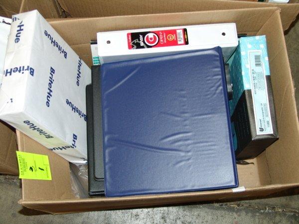 1003: BOX OF OFFICE SUPPLIES BOX OF OFFICE SUPPLIES  AP