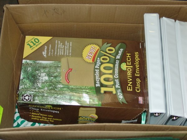 1004: BOX OF OFFICE SUPPLIES BOX OF OFFICE SUPPLIES  AP