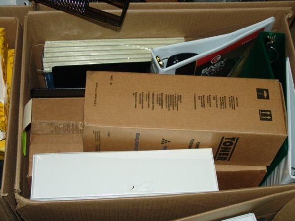 1006: BOX OF OFFICE SUPPLIES BOX OF OFFICE SUPPLIES  AP