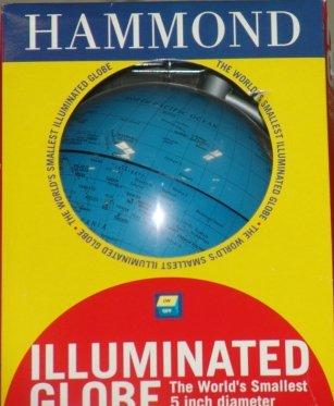 1: HAMMOND ILLUMINATED GLOBE HAMMOND ILLUMINATED GLOBE