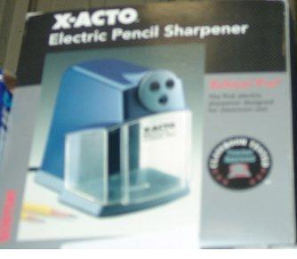 8: BOSTON X-ACTO ELECTRIC PENCIL SHARPENER BOXTON X-ACT