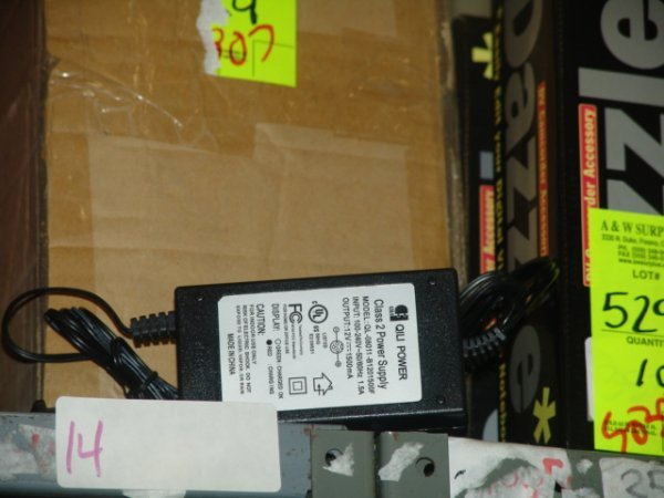 14: SCOOTER CHARGER 12 VOLT SCOOTER CHARGER 12 VOLT