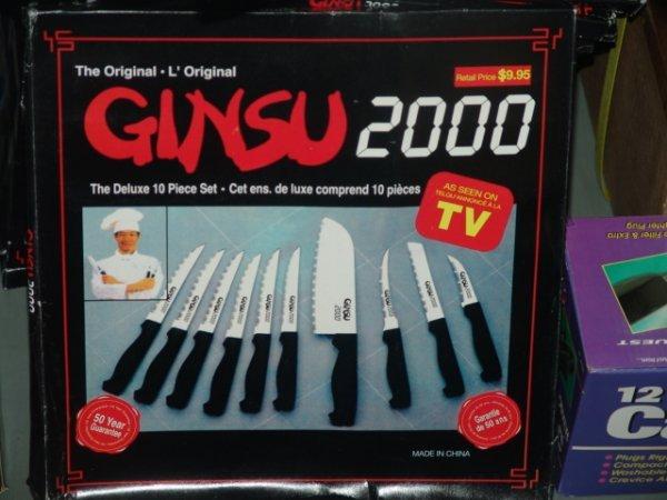 83: GINSU 2000 KNIFE SET NEW RETAIL BOXED GINSU 2000 KN