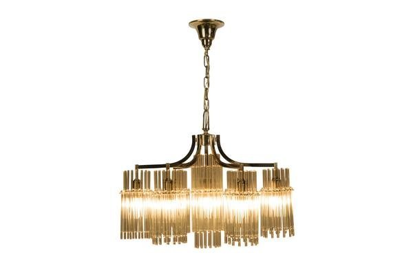 Exceptional Crystal Chandelier Pendant By Palwa - 2