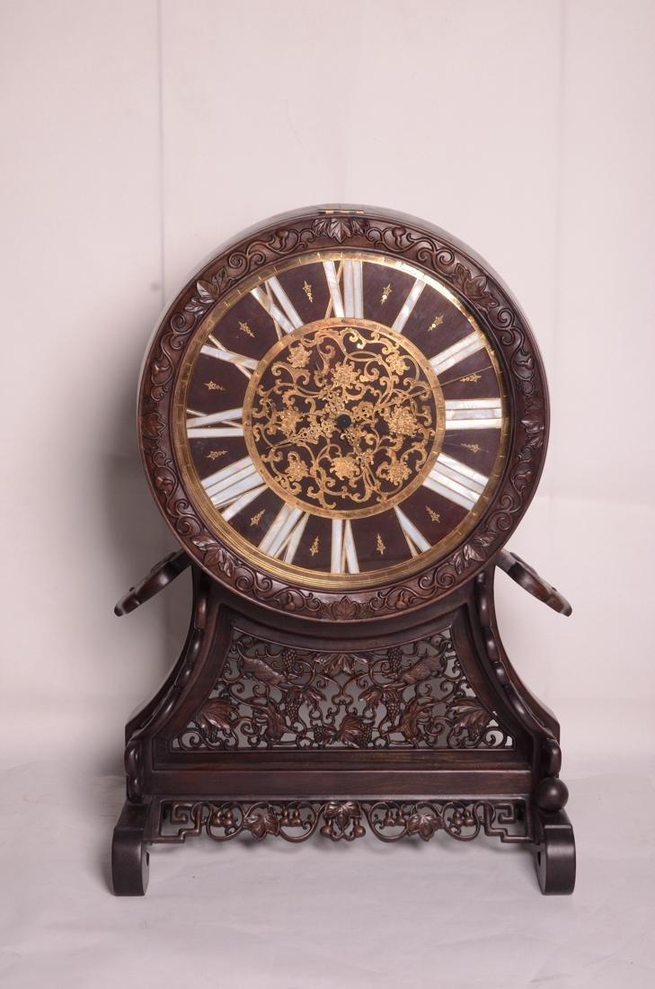 Chinese 20 century clock