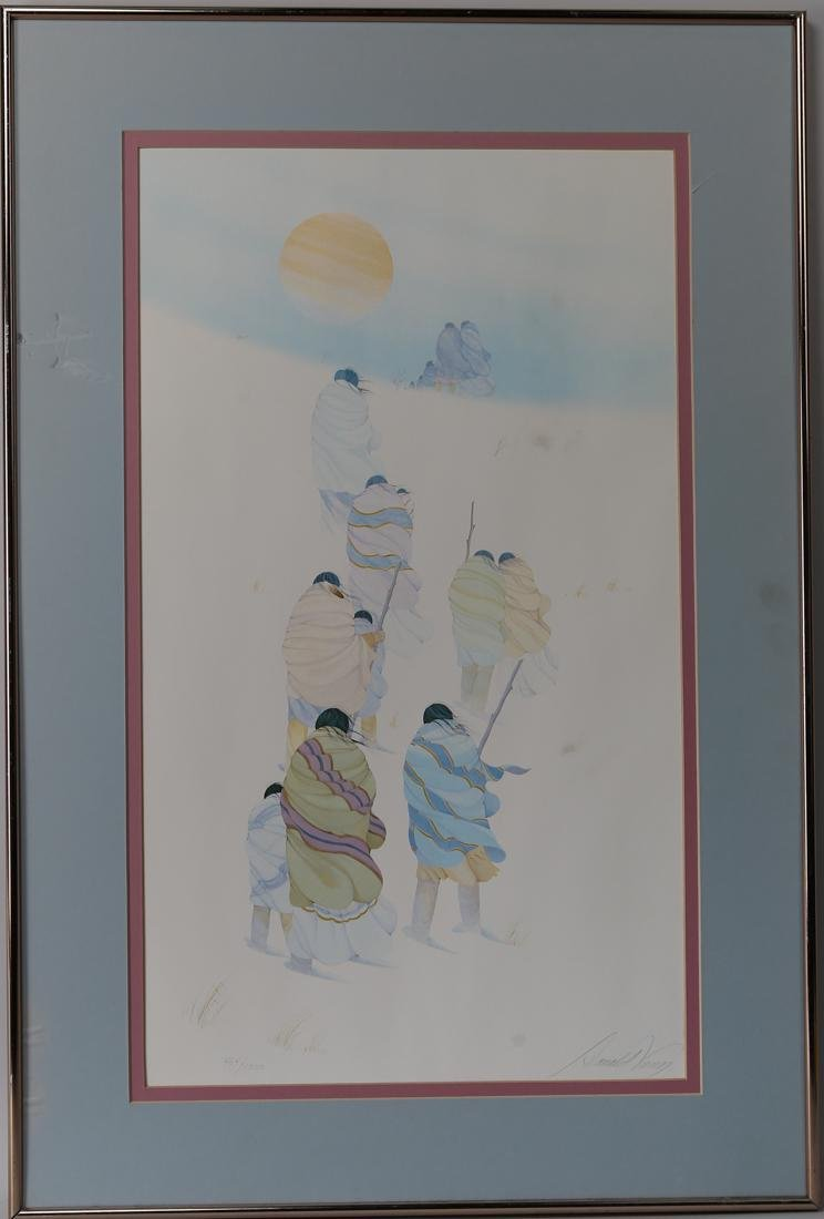 Donald vann limited print in 1983