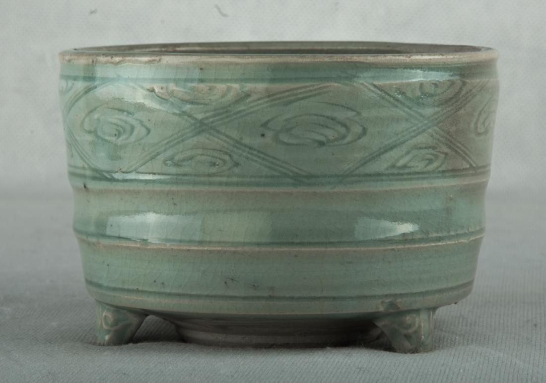 Probably Ming celadon censer