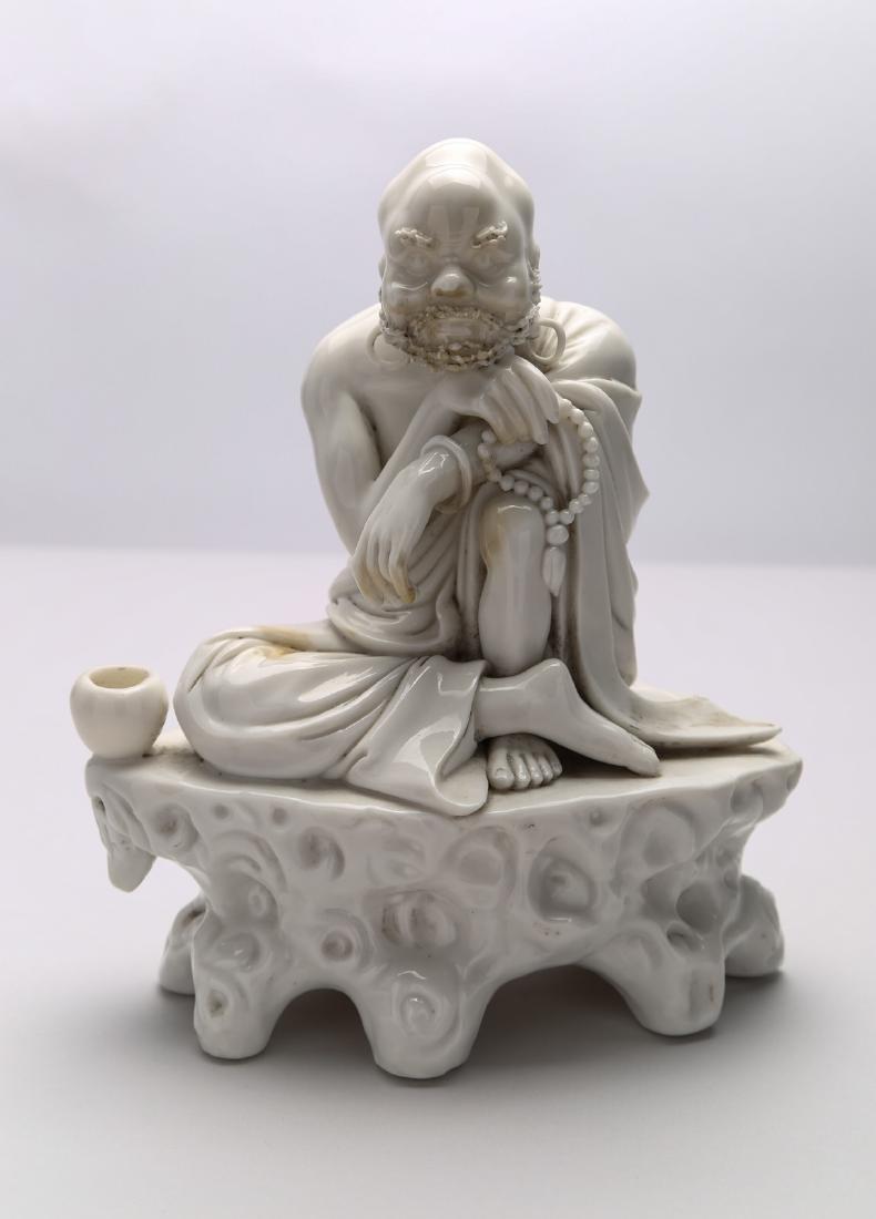 Chinese Dehua figure of Damo