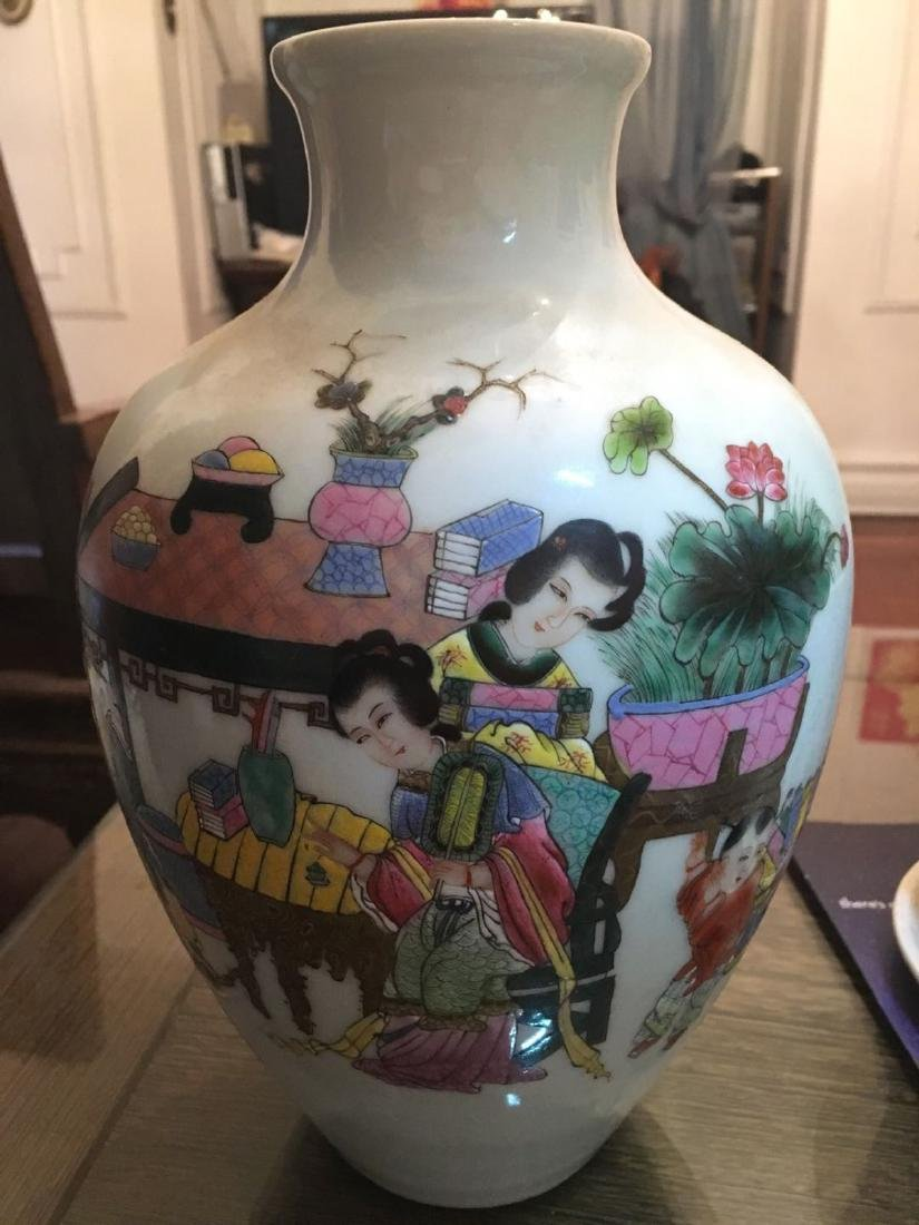 A chinese porcelain vase